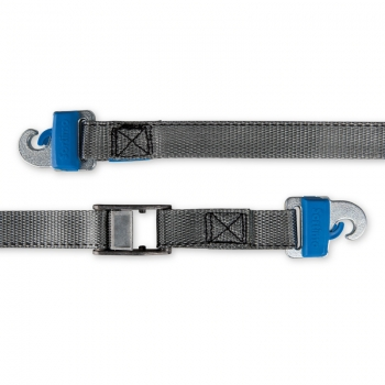 Lashing strap with lock buckle and hooks ProSafe 3m