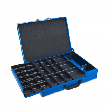 Metal case DM 332 incl. Divider and inset box set H31
