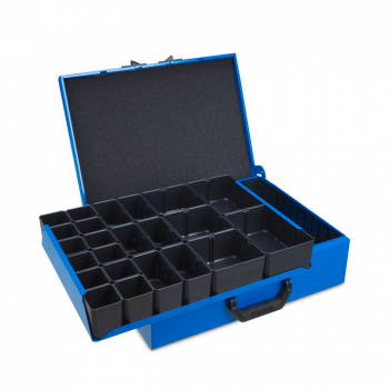 Metal case DM 342 incl. Divider and inset box set H63