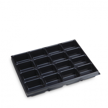 Small parts insert 16 troughs i-BOXX 72 G