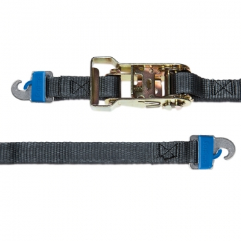 Lashing strap with ratchet turnbuckle and ProSafe hooks 3.5m