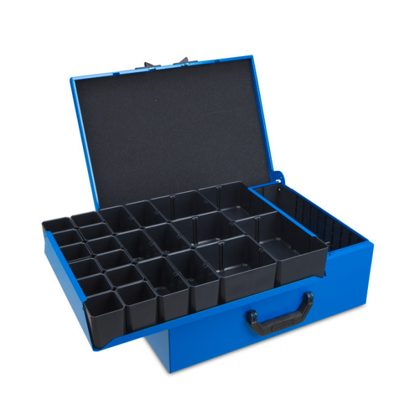 Metal case DM 352 incl. Divider and inset box set H63